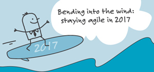 Bending into the wind: staying agile in 2017